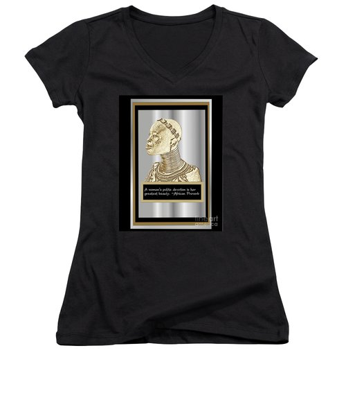 A Sisters Portrait 1 Women's V-Neck T-Shirt