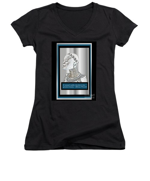 A Sisters Portrait 2 Women's V-Neck T-Shirt