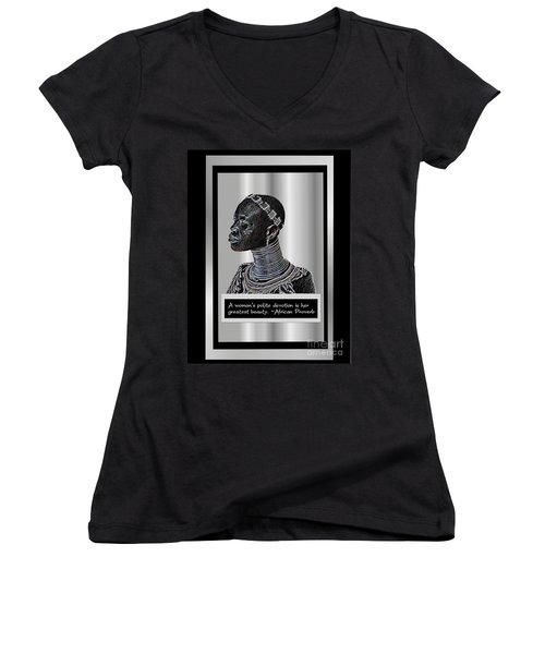 A Sisters Portrait Women's V-Neck T-Shirt