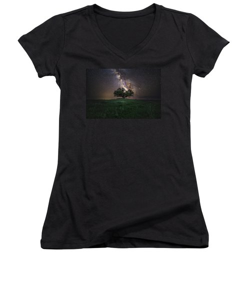 A Sky Full Of Stars Women's V-Neck