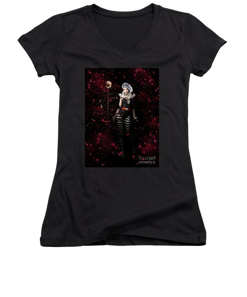 A Very Gothic Xmas Women's V-Neck (Athletic Fit)