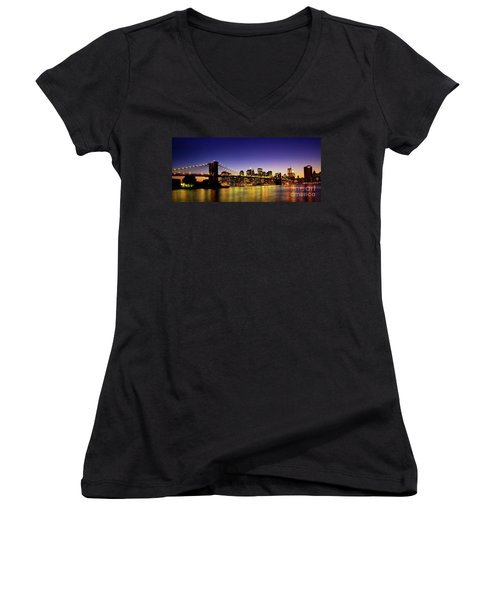 A View From Brooklyn Women's V-Neck T-Shirt