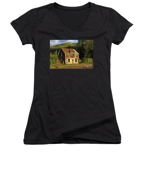Abandoned Women's V-Neck T-Shirt (Junior Cut)