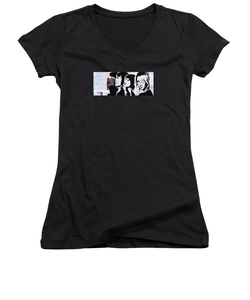 Abba Women's V-Neck (Athletic Fit)