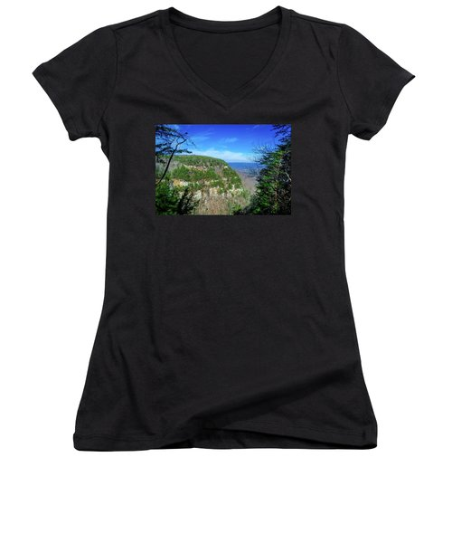 Above The Canyon Women's V-Neck