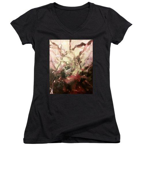 Abstract #01 Women's V-Neck T-Shirt