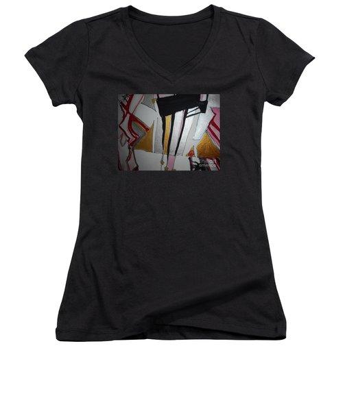 Abstract-13 Women's V-Neck