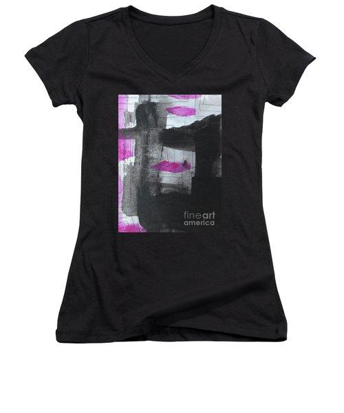 Abstract-15 Women's V-Neck