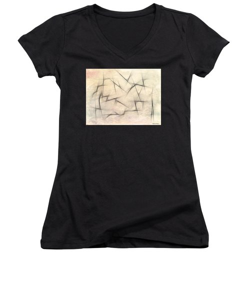 Abstract 1999 Women's V-Neck