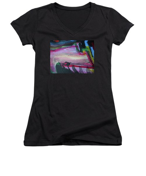 Abstract-25 Women's V-Neck