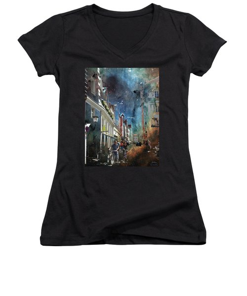 Abstract  Images Of Urban Landscape Series #6 Women's V-Neck
