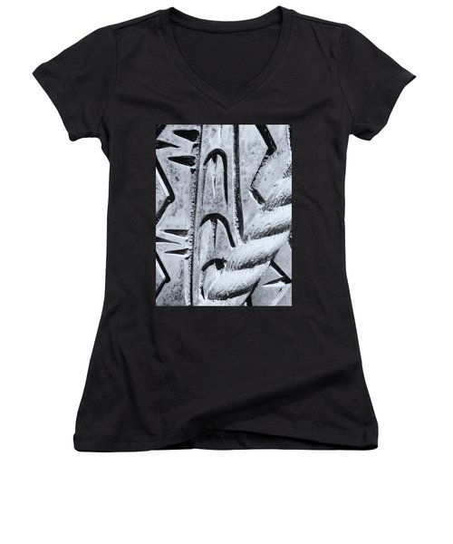 Abstract No. 97-2 Women's V-Neck (Athletic Fit)