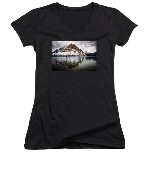 Adventure Unlimited Women's V-Neck (Athletic Fit)