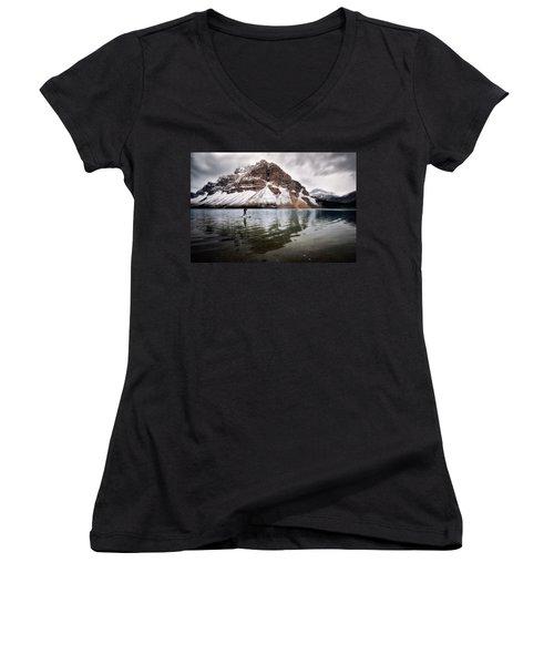 Adventure Unlimited Women's V-Neck T-Shirt