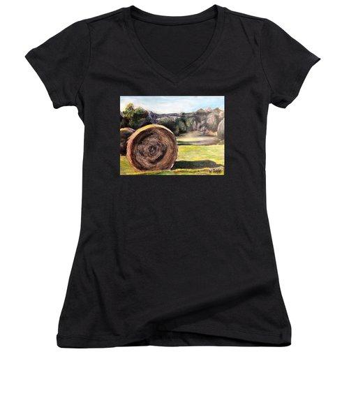 Adventures Await Women's V-Neck T-Shirt