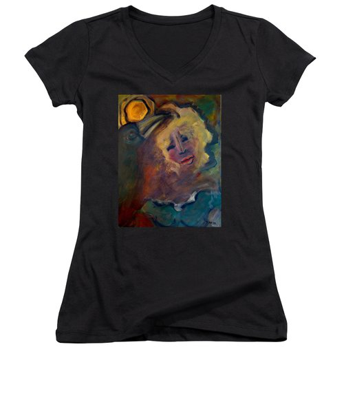 Affection Of Raven Women's V-Neck