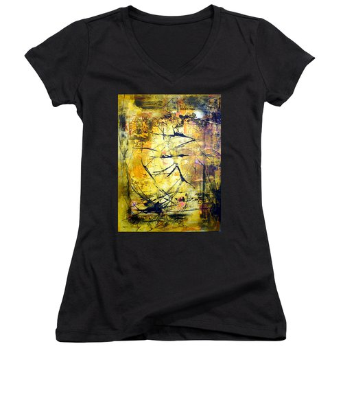 Aforethought Abstract Women's V-Neck