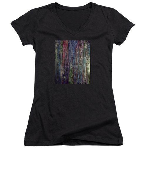 After Midnight Women's V-Neck T-Shirt
