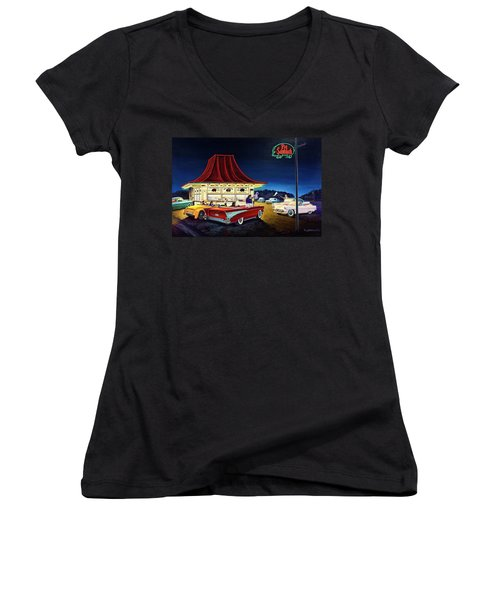 After The Game Women's V-Neck (Athletic Fit)