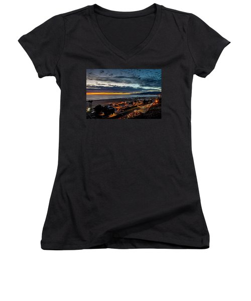 After The Storm And Rain  Women's V-Neck T-Shirt