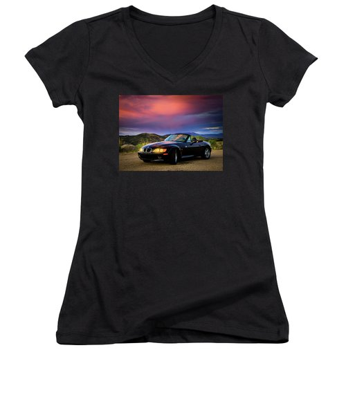 After The Storm - Bmw Z3 Women's V-Neck