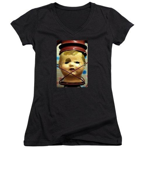 Afterlife 2 Warm Women's V-Neck T-Shirt