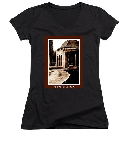 Aged By Time Women's V-Neck (Athletic Fit)