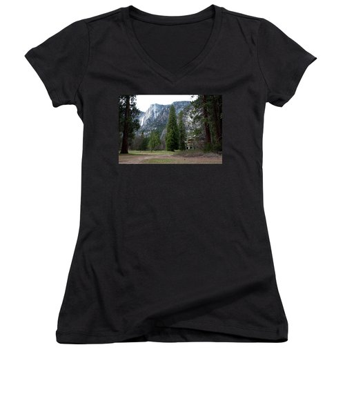 Ahwahnee Setting Women's V-Neck (Athletic Fit)