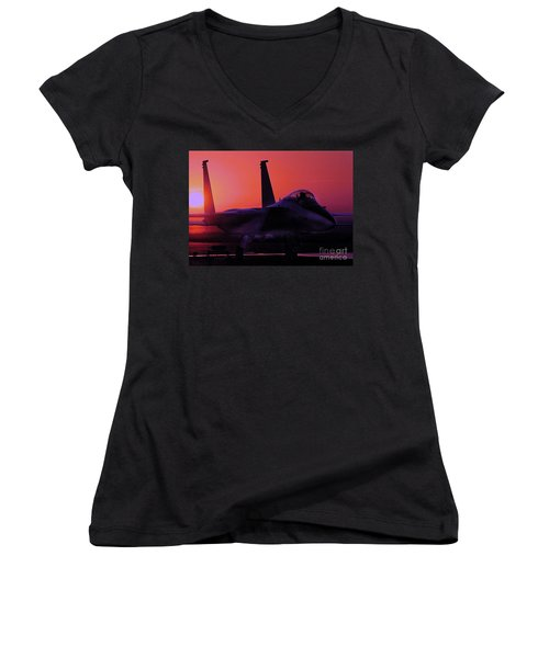 Alert 1 Women's V-Neck T-Shirt