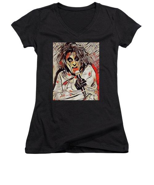 Alice Cooper Women's V-Neck