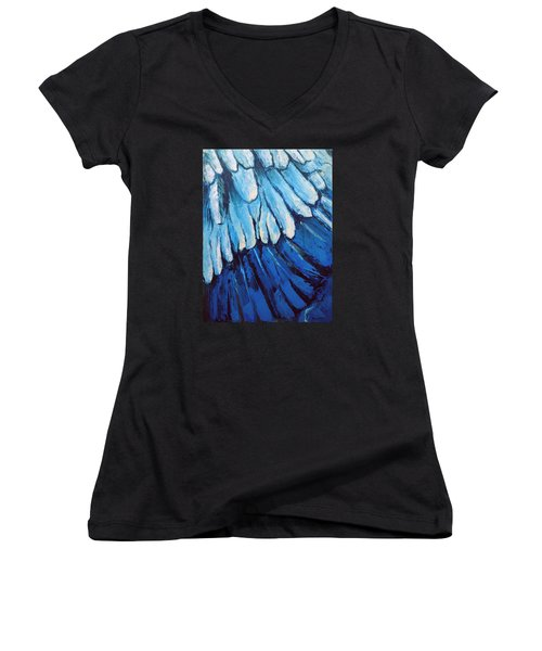 All Around Us Women's V-Neck T-Shirt (Junior Cut) by Nathan Rhoads