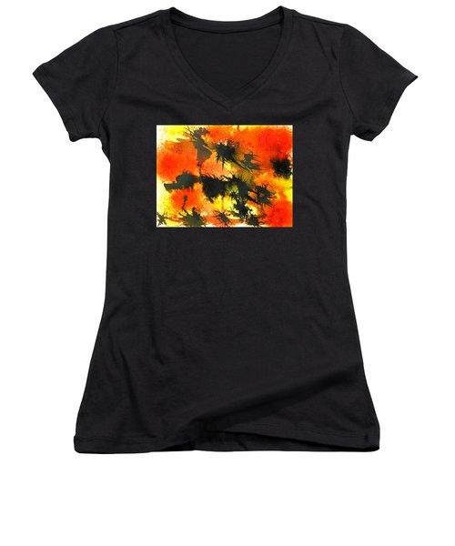 Allergic Reaction Women's V-Neck T-Shirt