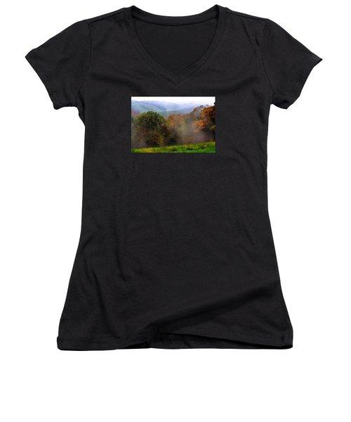 Along The Brp Women's V-Neck T-Shirt