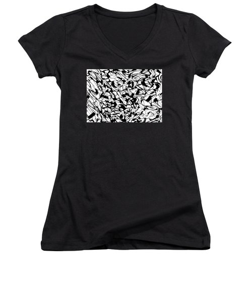 Alternate Topography 1 Women's V-Neck