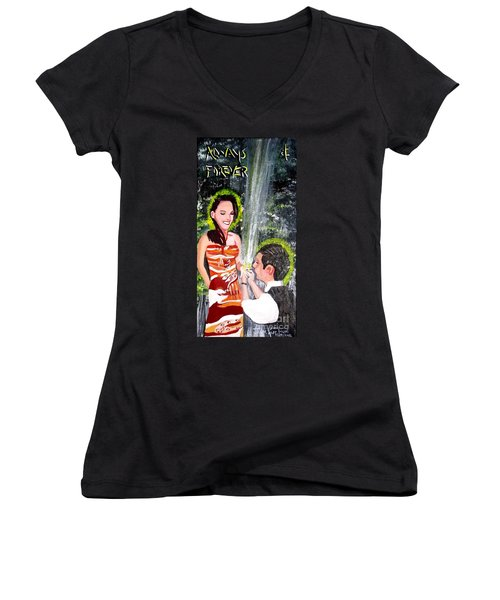Always  And Forever Women's V-Neck (Athletic Fit)