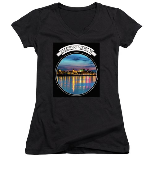 Amazing Warsaw Tee 1 Women's V-Neck