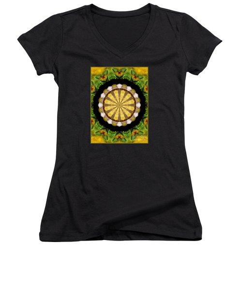 Amazon Kaleidoscope Women's V-Neck T-Shirt
