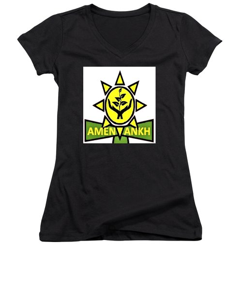 Amen Ankh Women's V-Neck