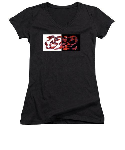 American Intellectual 6 Women's V-Neck T-Shirt