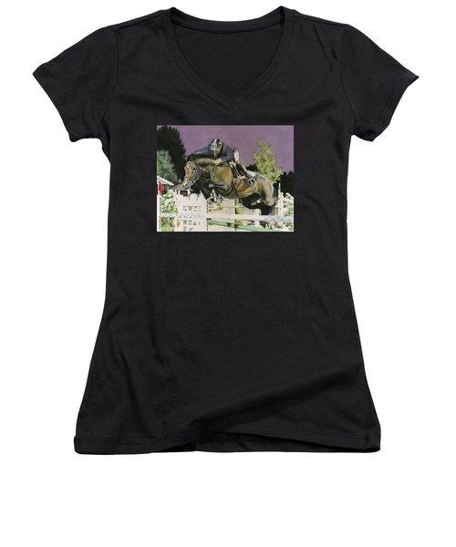 Ammeretto Aka Dutch Women's V-Neck T-Shirt