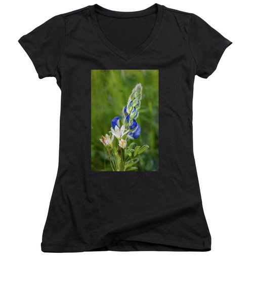 An Intimate Bouquet Women's V-Neck