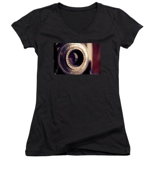 An Old Friend Women's V-Neck T-Shirt