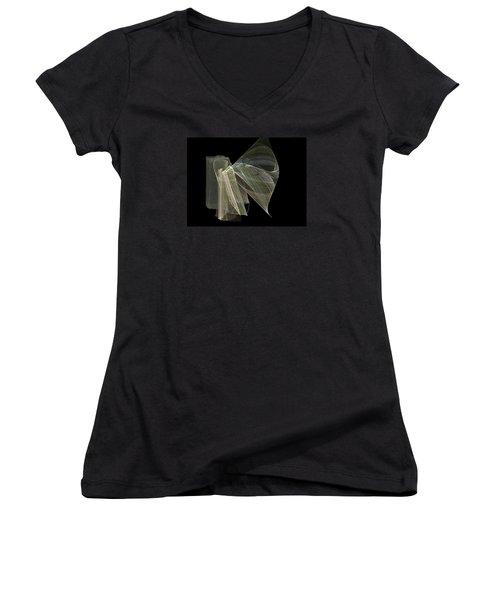 And The Angel Spoke..... Women's V-Neck T-Shirt (Junior Cut) by Jackie Mueller-Jones