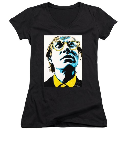 Andy Warhol Part Two. Women's V-Neck T-Shirt