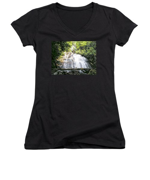 Anna Ruby Falls Women's V-Neck T-Shirt