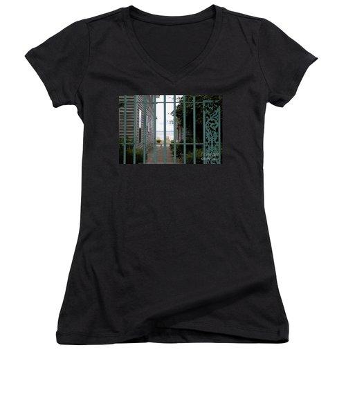 Another Life Women's V-Neck T-Shirt (Junior Cut)