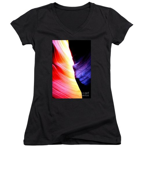 Passion Of Antelope Canyon Women's V-Neck