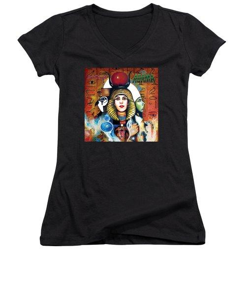 Antiquark Women's V-Neck T-Shirt