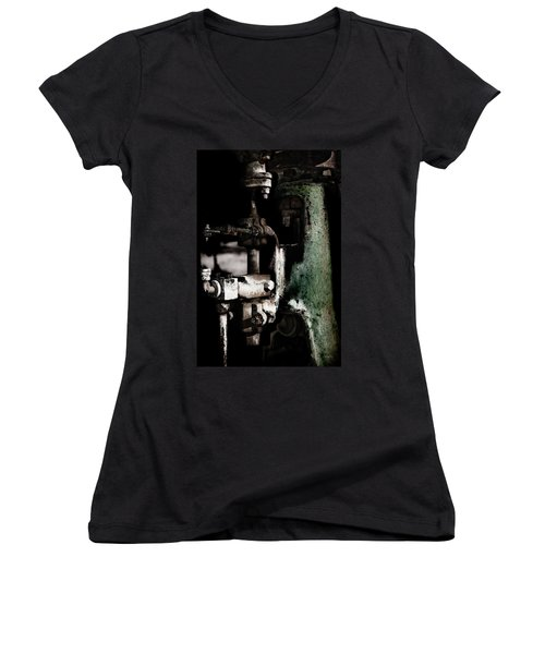 Antique Women's V-Neck T-Shirt (Junior Cut) by Joseph Westrupp
