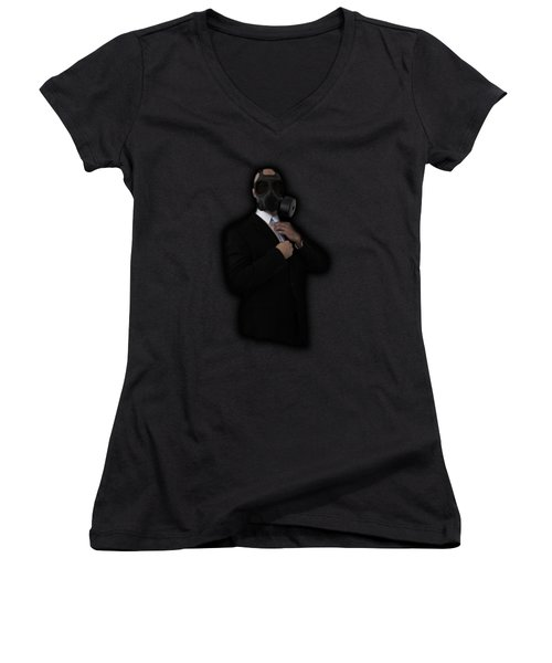 Apocalyptic Style Women's V-Neck (Athletic Fit)